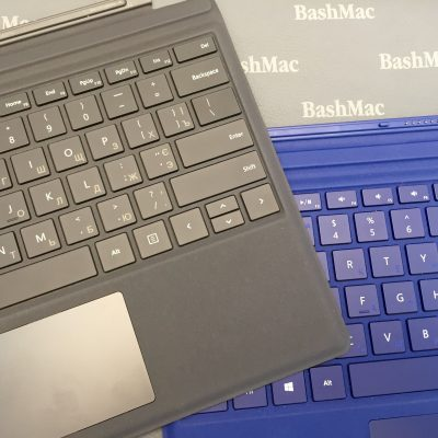Гравіювання на клавіатурі Microfoft Surface 4