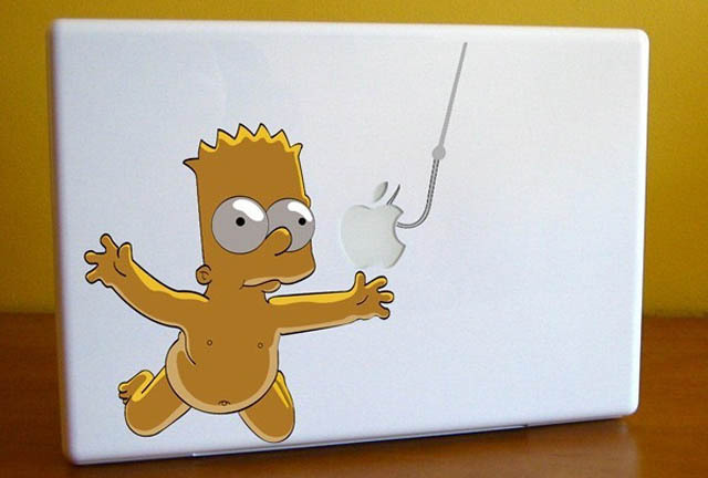 bart-nirvana-macbook-decal-sticker