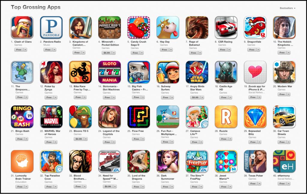 App Store видалить додатки