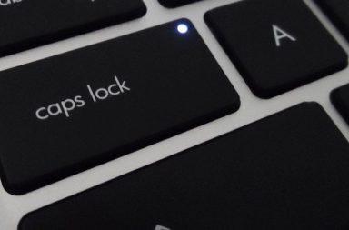 День клавіші CAPS LOCK