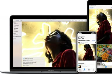 iCloud Photo Sharing на Мак