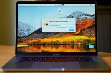 Зашифрованная папка с паролем в macOS