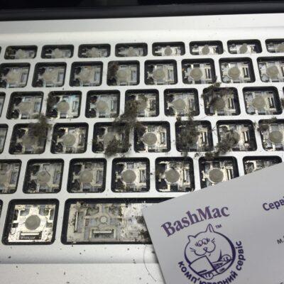 как правильно чистить клавиатуру MacBook