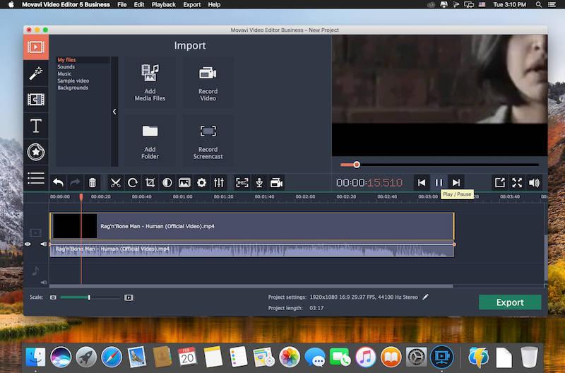 Рейтинг программ для монтажа видео на Мак