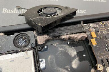 ошибки чистки Макбук