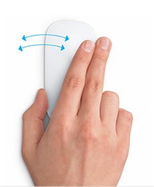Управление мышкой Apple