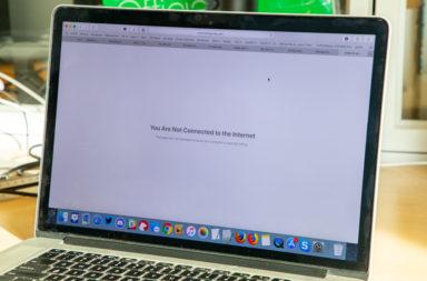 Пропал интернет после обновления на macOS Catalina