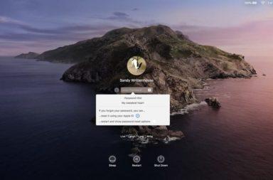инструкция по сбросу пароля на Мак