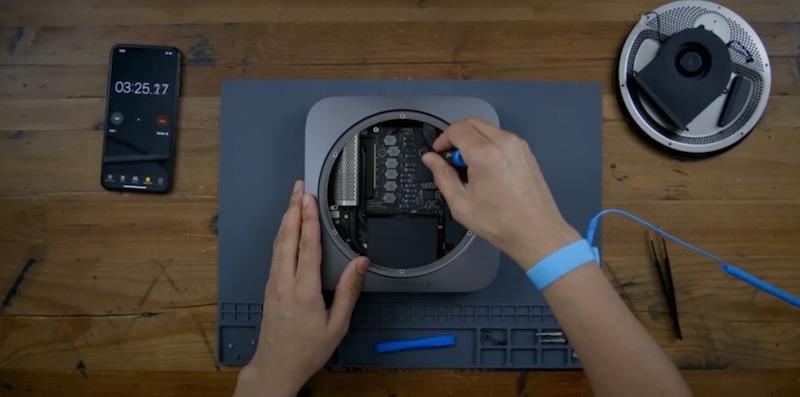 характеристики та ремонт Mac mini M1 2020