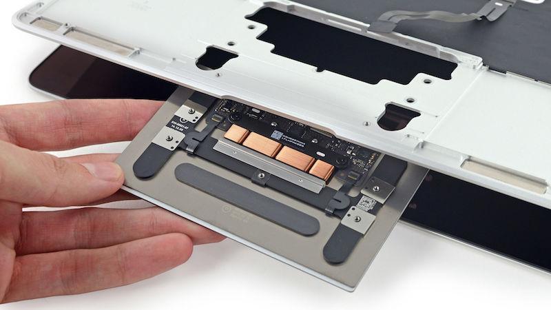 Поломки и ремонт трекпада Force Touch MacBook