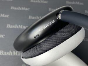 Лазерная гравировка на наушниках AirPods Max