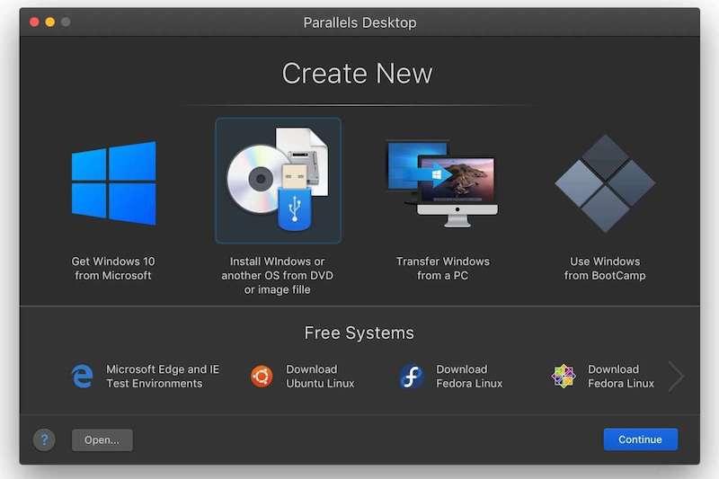Установка Parallels Desktop 16 на MacBook M1