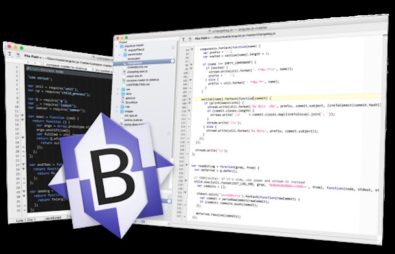 Редактор кода для macOS BBEdit-13