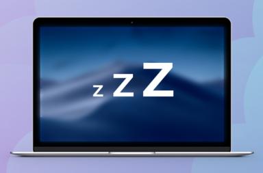 настройка режима сна на Макбук